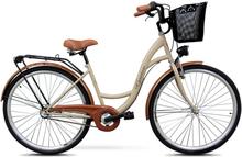 """Cykel Classic 28"""" - 3 växlar - cappucino"""
