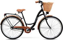 """Cykel Classic 28"""" - 3 växlar - svart"""