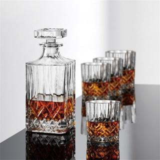 Aida Harvey Whiskykaraffel samt 4 Whiskyglass Aida
