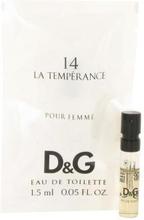La Temperance 14 by Dolce & Gabbana - Vial (Sample) 1 ml - för kvinnor