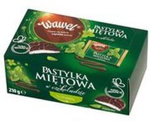 Wawel - Pastylka miętowa w czekoladzie
