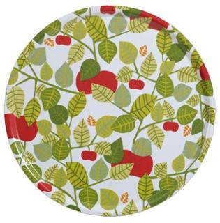 Almedahls Apple Bricka Grön Rund Ø 45 cm