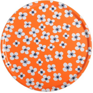 Almedahls Belle Amie Bricka Orange Rund Ø 45 cm