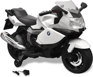 vidaXL BMW 283 Elektrisk Motorcykel til børn, Hvid 6 V