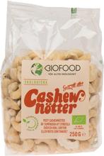 Ekologiska Cashewnötter Hela, 250 g