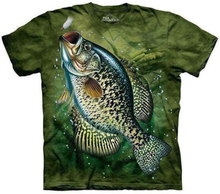 Crappie t-shirt, Adult 2XL