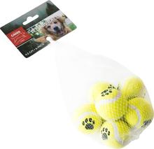 Hundleksak Party Pets Tennisboll, 6-pack