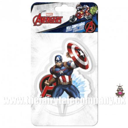Avengers håndklæde poncho, ca 48*100 cm - TheFairytaleCompany