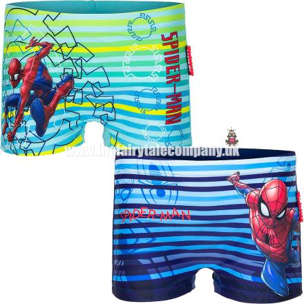 Spiderman Badebukser, Marineblå / Blå - TheFairytaleCompany