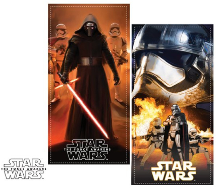 Star Wars badehåndklæde, Darth Vader, 70 x 140 cm - TheFairytaleCompany