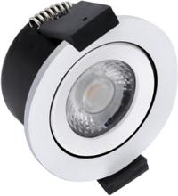 HiluX D3 LED Spot 5W - Ra97 - 380LM - 2700K - Hvid Udendørs