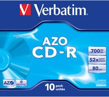 CD-R AZO, 52X, Crystal (10)