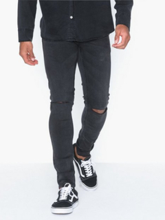 Only & Sons Onswarp Black Washed Pk 4336 Jeans Sort