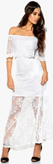 Make Way Harlow Dress White XS