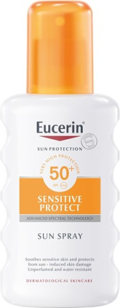Eucerin Sensitive Sun Spray SPF 50+ 200 ml