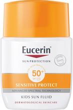 Eucerin Sensitive Kids Sun Fluid SPF 50+, 50 ml