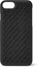 Pelle Tessuta Leather Iphone 7/8 Case - Black