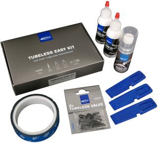 SCHWALBE Tubeless Easy Kit 23 Conversion Kit 2019 Tubeless Kits
