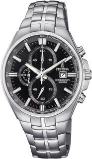 Festina F6862/4 Mens Black Dial Chronograph Watch