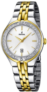 Festina F16868/1 tvåfärgad multi-function damklocka