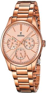 Festina F16816/2 Rose Gold multi-function damklocka