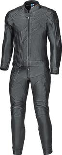 Held Medalist Tvådelad motorcykel läder kostym Svart 2XL