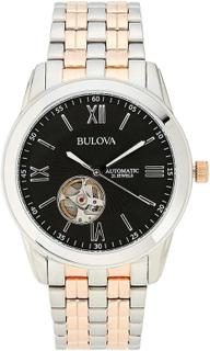 Bulova 98A144 män s automatiska tvåfärgad Quartz Watch