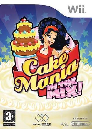 Nintendo Wii Cake Mania i mixen (Wii)