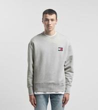Tommy Jeans Badge Crew Sweat Shirt, grå