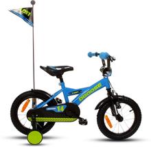 """Cykel D'Goose 14"""" - blå"""