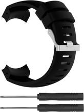 Suunto Core Alu Black Klokkereim laget av silikon - Svart