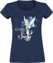 Peter Pan - Tinker Bell - Classy And Sassy -T-skjorte - mørkeblå
