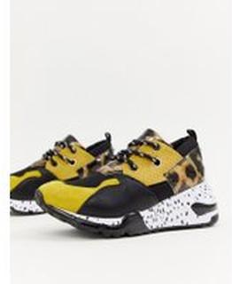 Steve Madden - Clifff - Grova sneakers - Gul
