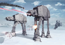 Komar Fototapet Star Wars Battle of Hoth 368x254 cm 8-481