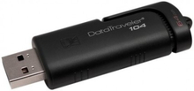 Kingston DataTraveler 104 USB-minne, 64GB, USB 2.0, sliding cap