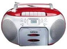 Boombox SCD-420 - boombox - CD - FM - Stereo - Silver