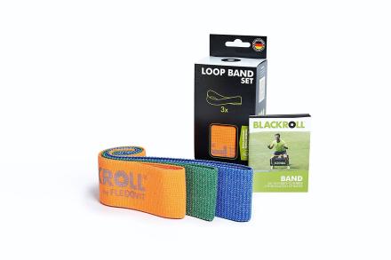 Blackroll Loop Band Træningselastik Sæt (3 stk) - Apuls