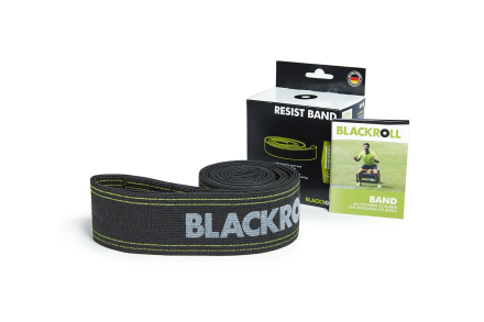 Blackroll Resist Band Sort Træningselastik - Apuls
