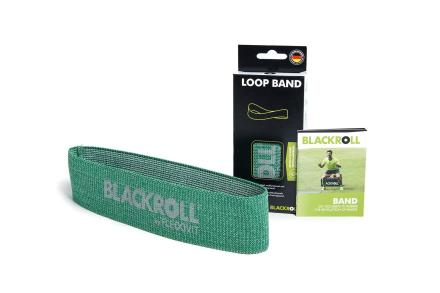 Blackroll Loop Band Træningselastik Medium (1 stk) - Apuls