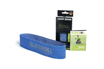Blackroll Loop Band Træningselastik Hård (1 stk) - Apuls