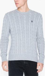 Polo Ralph Lauren Cotton Cable Sweater Trøjer Grey