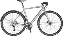 Scott Metrix 30 EQ Disc Hybridcykel Alu, Claris 2x8, Platt styre, 11,6 kg