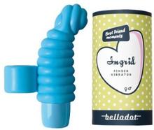 Ingrid Finger vibrator blå