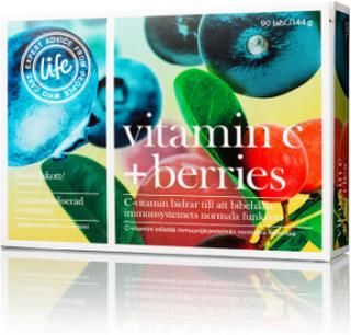 Life Vitamin C + Berries 1000mg