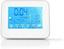 Nedis Väderstation för Inne och Ute med Tid, Datum, Alarm 401WT