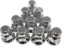 10-Pack Hjulmutterkåpa Metall 32mm