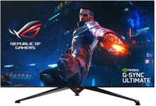 "ASUS ROG SWIFT PG65UQ - LED-skärm - 64.5"" - 3840 x 2160 4K @ 144 Hz - VA - 1000 cd/m² - 4000:1 - 4 ms - 4xHDMI, DisplayPort - högtalare - svart"