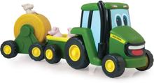 Tomy - John Deere Traktor med djur
