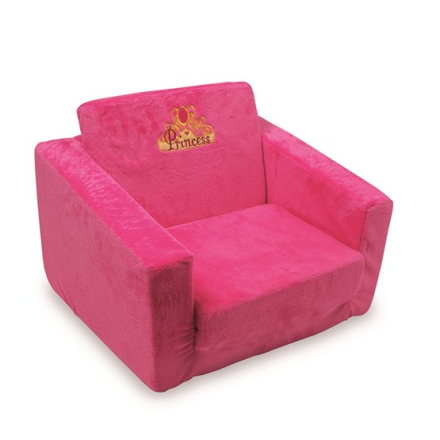Small Foot - 2 st Fåtöljer - Plush Armchair Princess
