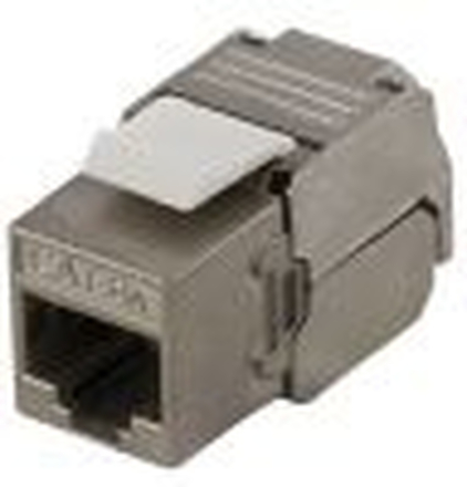 Keystone FTP Cat6a skärmad RJ45 kontakt